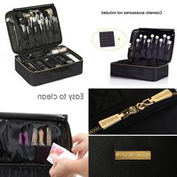 ROWNYEON Cosmeva Makeup Organizer Bag Portable Case Professi