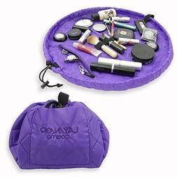 Lay-n-Go Cosmo  Cosmetic Bag, Purple