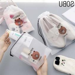 Cute Travel Packing Organizers Waterproof Cosmetic Bag Women