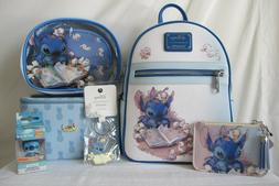 disney lilo and stitch backpack cardholder cosmetic