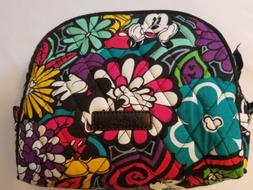 Vera Bradley Disney Parks Mickey Magical Blooms Lined Makeup