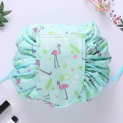 Drawstring Cosmetic Makeup Storage Bag Lazy Travel Toiletry