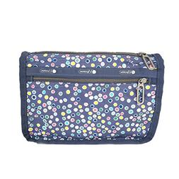 LeSportsac Essential Everyday Cosmetic Case, Bubble Tea Dot