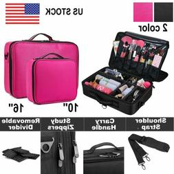 Extra Large Makeup Bag Vanity Case Cosmetic Artist Storage B