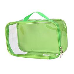EzPacking Clear Travel Toiletry Bag / Perfect Gym Bag and Ma