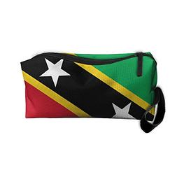 Cosmetic Bag Flag Of Saint Kitts And Nevis Toiletry Bag Port
