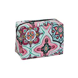 Floral Garden Print NGIL Large Cosmetic travel Pouch