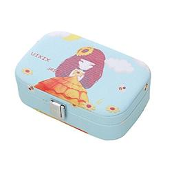 Beautiful Flower Girl Cosmetic Storage Box Cosmetic Containe