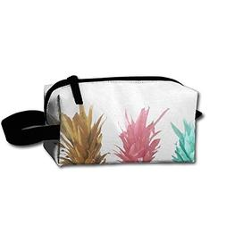 Fruits Pineapple Cosmetic Bag For Purse Cosmetic Bag Zipper