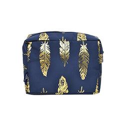 N. Gil Large Travel Cosmetic Pouch Bag 3