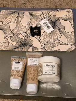 Origins Ginger Gift Set Cosmetic Bag + 90ml Body Cream + 75
