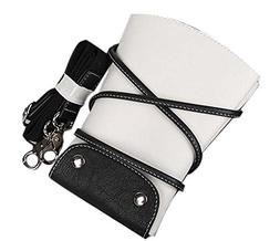 Hair Scissors Cosmetic Bag PU Leather Pouch Comb Bag Hair St