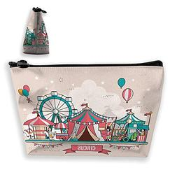 Ladies handbag Cosmetic Bag Wallet,Flat Design Style Balloon