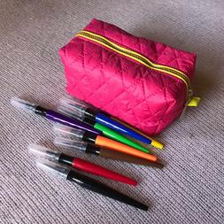 Handmadecosmetic bags, makeup organizer, accessories pouch
