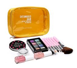 Handy Clear Cosmetic Makeup Bag Handbag TSA Approved Zipper