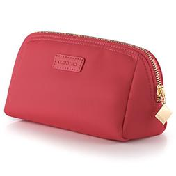 handy cosmetic pouch clutch makeup bag rose