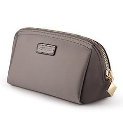 CHICECO Handy Cosmetic Pouch Clutch Makeup Bag - Grey