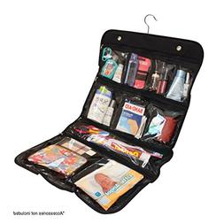 Hanging Cosmetic, Toiletry, Travel Organizer, 10 Pocket Pack