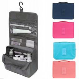 Hanging Makeup Toiletry Bag Large Kit Folding Organizer for