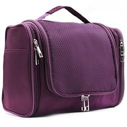 Extra Large Capacity Hanging Toiletry Bag for Men & Women, P