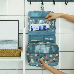 Hanging Toiletry Bag - Large Cosmetic Makeup Travel Organize