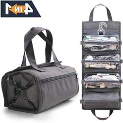 4-in-1 Hanging Toiletry Bag Travel Toiletries Bag for Women
