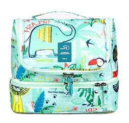 Hanging Travel Toiletry Cosmetic Makeup Case Kit Bag Waterpr