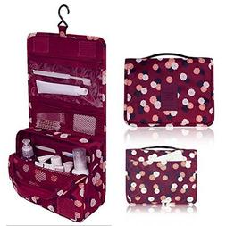 L&FY Hanging Toiletry Kit Travel BAG Cosmetic Carry Case