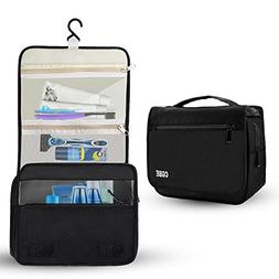 Hanging toiletry Organizer Waterproof Travel kit, CGBE Cosme