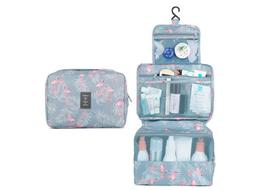 Hanging Travel Toiletry Bag Cosmetic Organizer for Women and