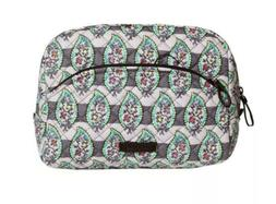 Vera Bradley Iconic Large Cosmetic Bag Paisley Stripes