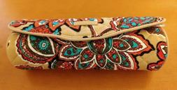Vera Bradley Iconic on a Roll Case, Signature Cotton, Desert