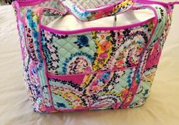 ecd0d9d19d49 Vera Bradley Iconic Signature Miller Travel Bag w  Cosmetic