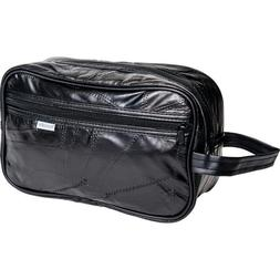 Italian Design Genuine Leather Personal Travel Bag with Acce