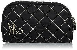Kate Aspen Cosmetic Couture QuiltedMonogrammed Make-Up Bag