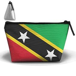 RobotDayUpUP St.Kitts And Nevis Large Flag Womens Travel Cos