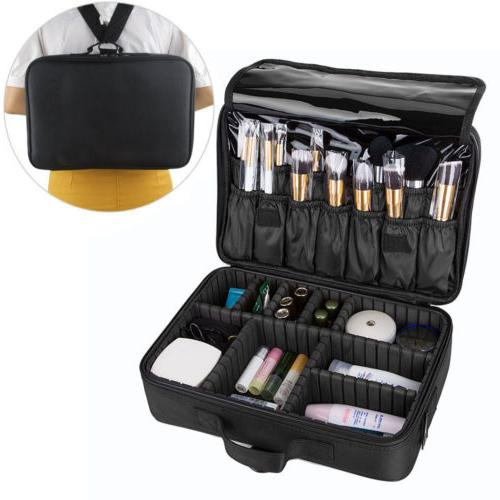 13/16'' Professional Cosmetic Case Storage Artist Travel