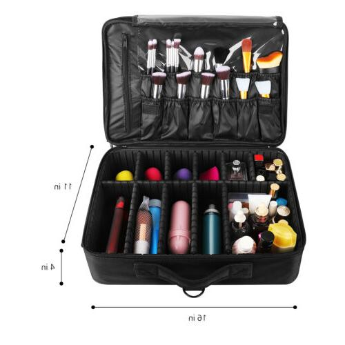 "16"" Cosmetic Large Women Organizer Storage Travel"