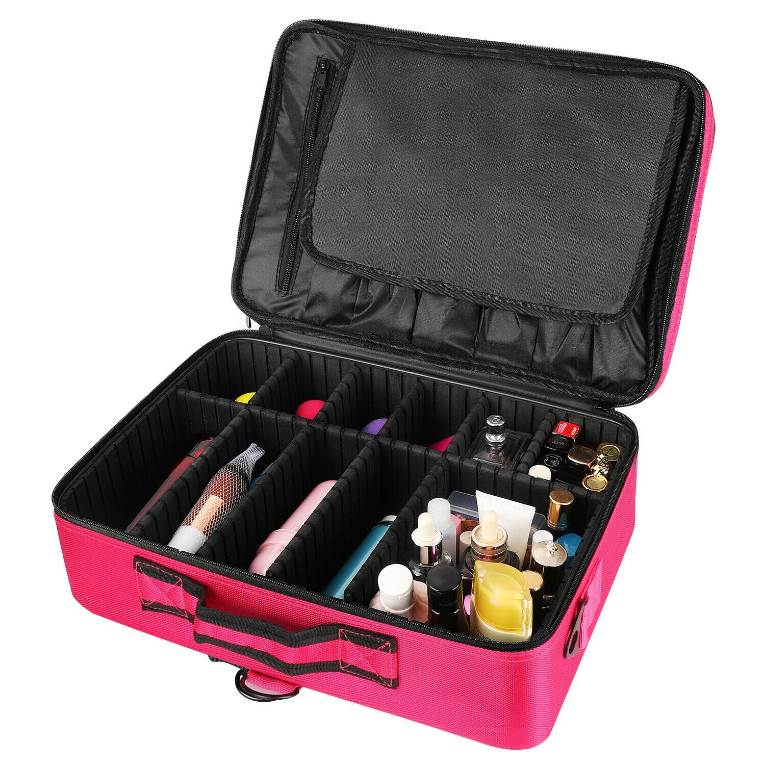 "16"" Women Makeup Case Storage"