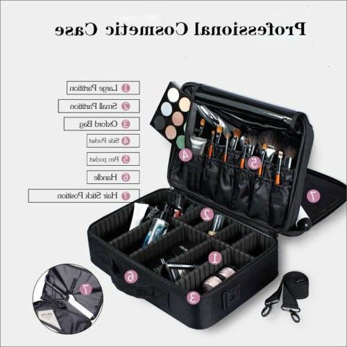 16inch Cosmetic Travel Dividers Bag Backpack