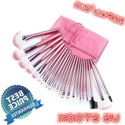 22pcs set makeup brushes face powder eyeshadow