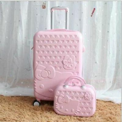 2PCS/SET Lovely Cosmetic bag Kitty 24 girls Trave