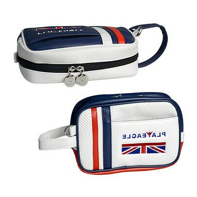 2x Golf Valuables Pouch, Ditty Tool Makeup Bag