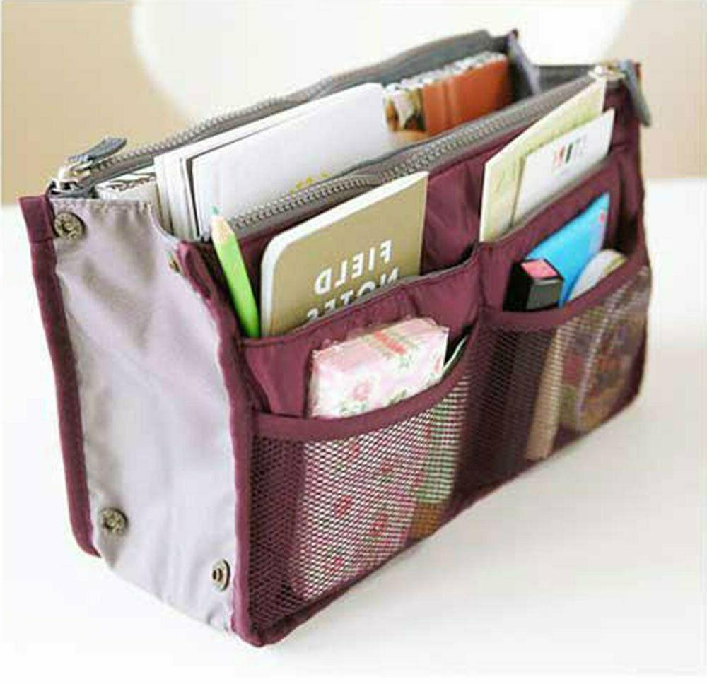 Travel Makeup Cosmetic Bag Case Toiletry Organizer Zipper Holder