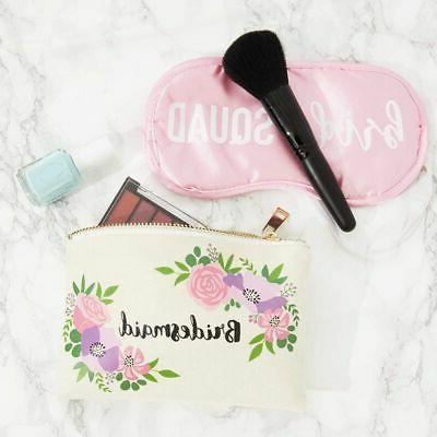 3x Makeup Bags Pouches with Zipper for Pen