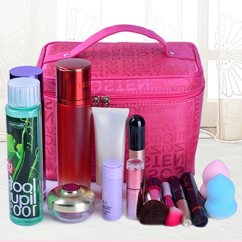 5 colors Women <font><b>Bags</b></font> Women Beauty Case Organizer <font><b>Bag</b></font> Wash