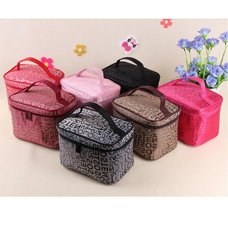 5 Women <font><b>Makeup</b></font> <font><b>Bag</b></font> Cosmetic <font><b>Bags</b></font> Women Case Cosmetics Organizer <font><b>Bag</b></font> Wash