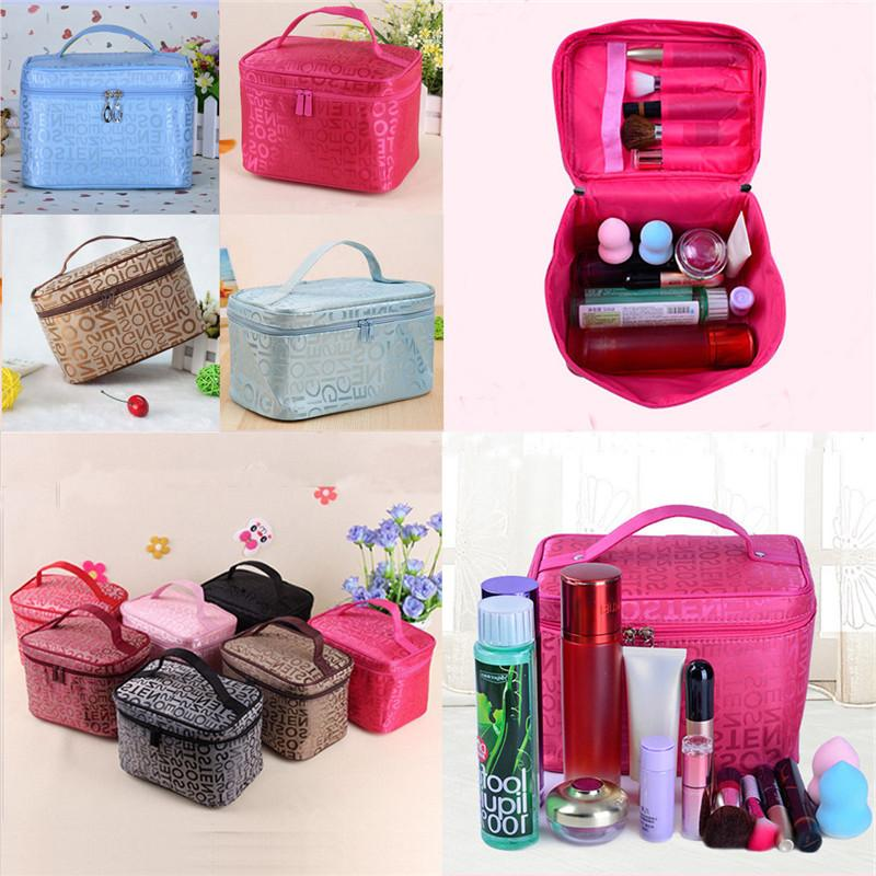 5 Women <font><b>Bag</b></font> <font><b>Bags</b></font> Case Cosmetics <font><b>Bag</b></font> Travel Wash Pouch