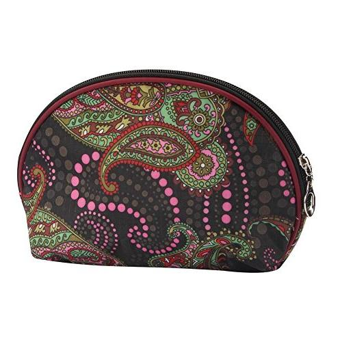 JOE COOL Cosmetic Bag Zany Paisley  Made with Nylon by