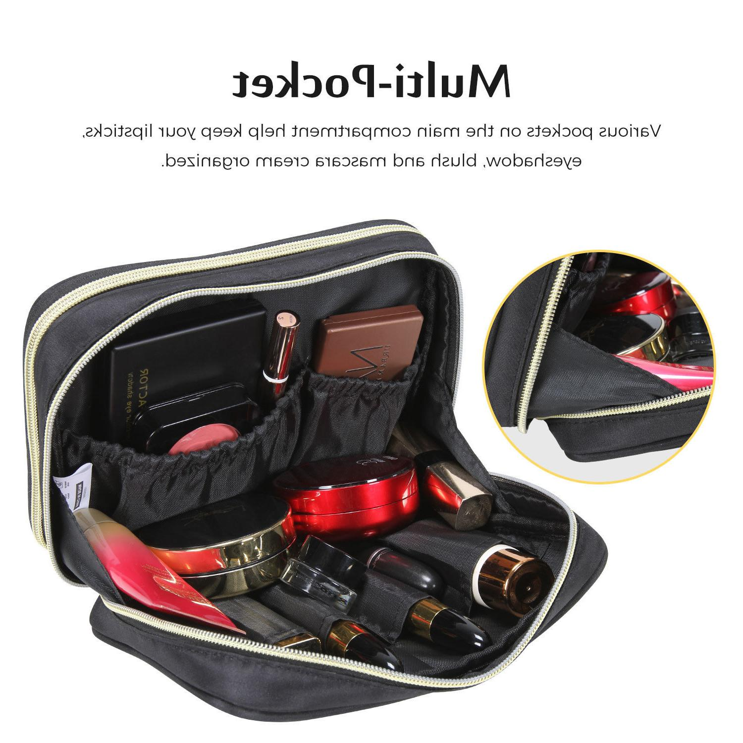 Lifewit Travel Cosmetic Organizer Holder Case